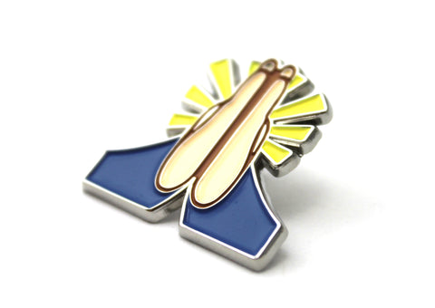 The Prayer Hands Emoji Pin