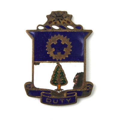 The 'Duty' Vintage Pin