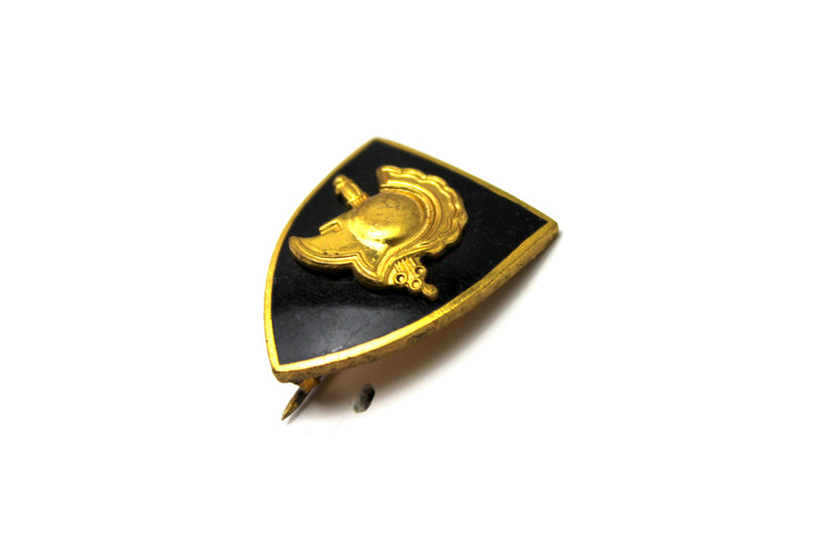 The 'Golden Spartan' Vintage Pin
