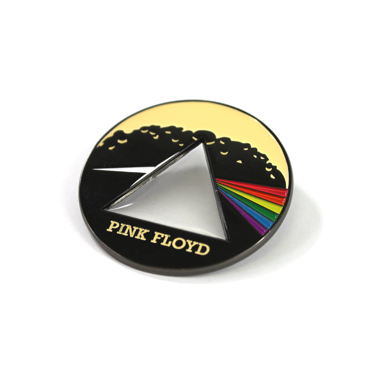 Pink Floyd metal pin badge Dark side of the Moon Roger Waters David Gilmour