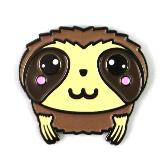 The Kawaii Sloth Pin