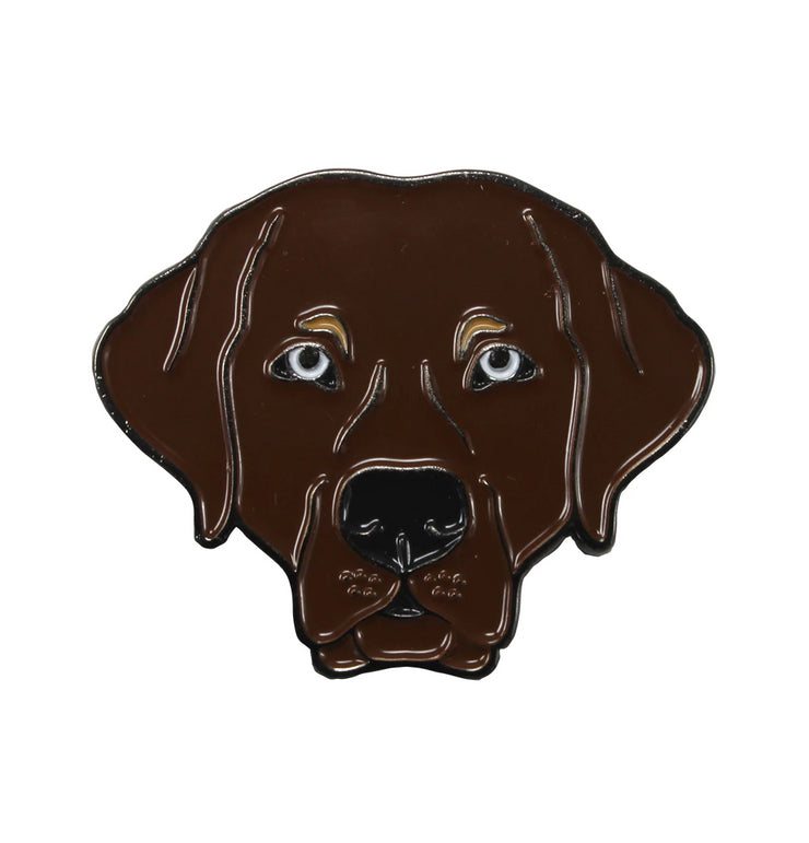 The Chocolate Lab Pin Pet