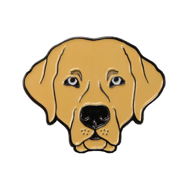 The Yellow Lab Pin Pet