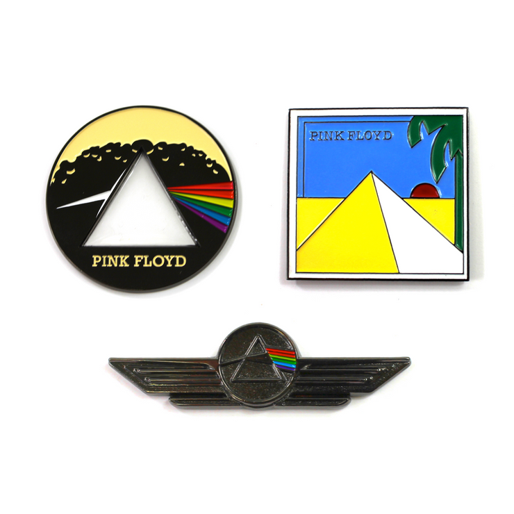 The Pink Floyd Dark Side of The Moon Pin Set