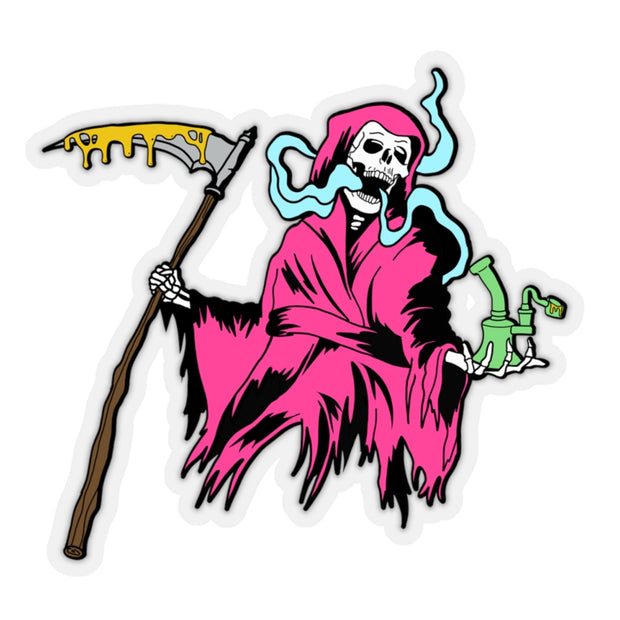 The Oversized 'Grim Dabber' Vinyl Sticker
