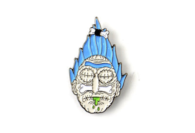 The Shrunken Head Rick Pin