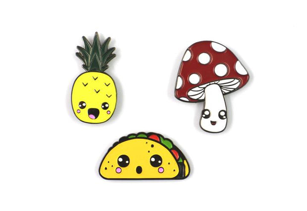 The Kawaii Pin Set