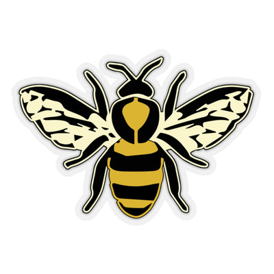 The Oversized 'Worker Bee' Vinyl Sticker