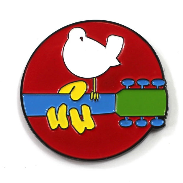 The Woodstock 3 Days of Peace Pin