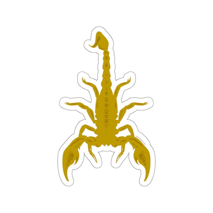 The Oversized 'Desert Scorpions' Vinyl Sticker