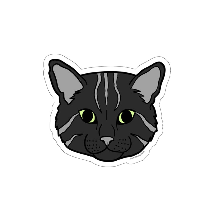 The Oversized 'Black Cat'  Vinyl Sticker
