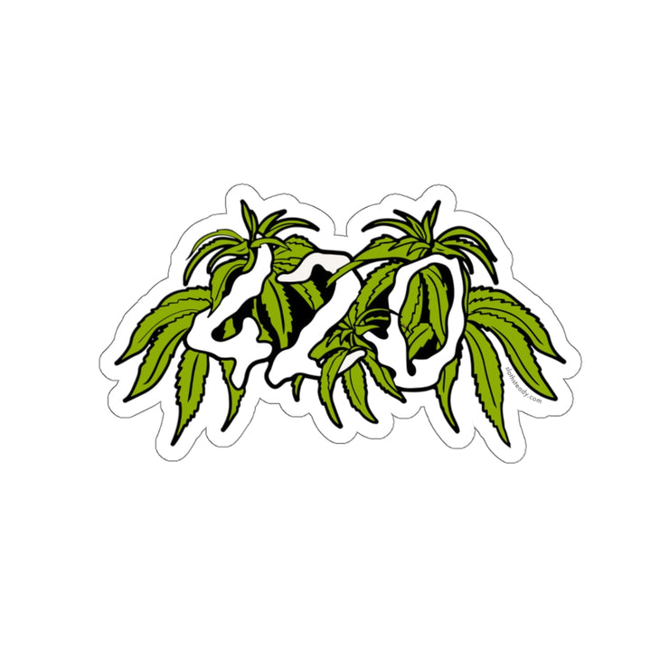 The Oversized '420' Vinyl Sticker