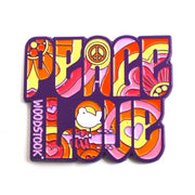 The Woodstock Peace & Love Pin