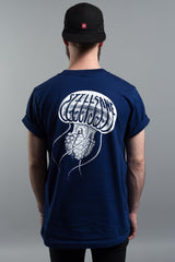 Navy Jellyfish Pocket Tee