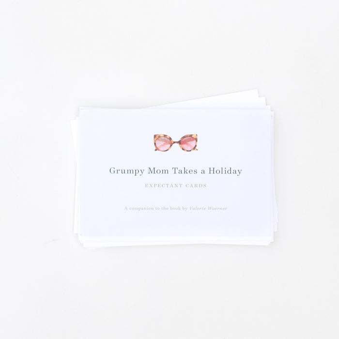 Expectant Cards - Grumpy Mom Takes a Holiday