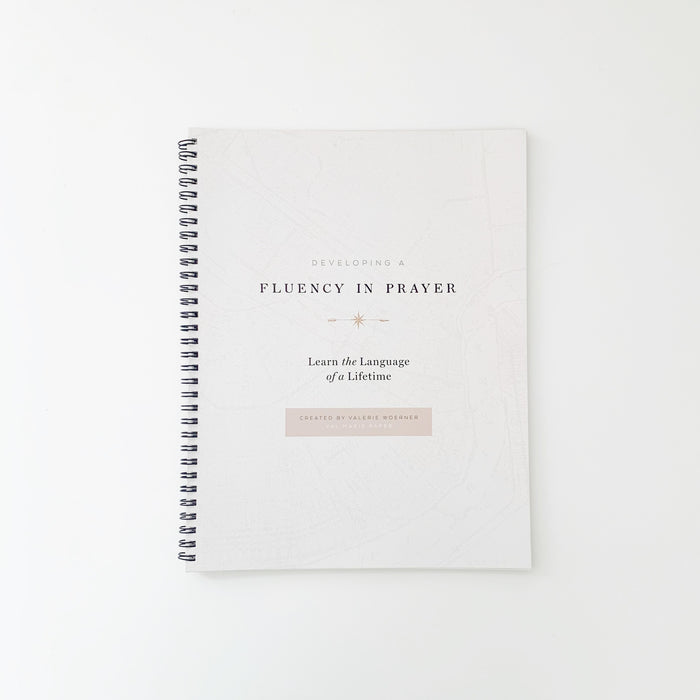 Extra Developing a Fluency of Prayer Workbook