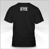 Elias Black Text Shirt Back