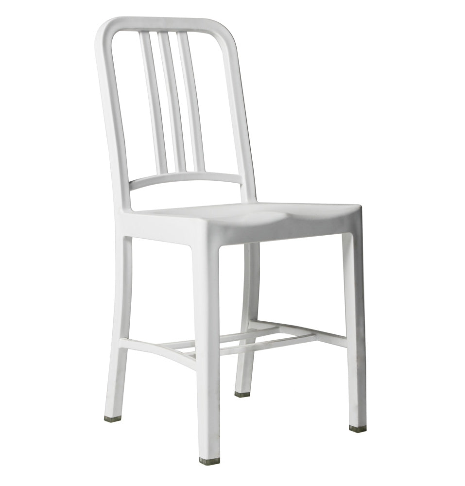 US Navy Emeco Chair Blanco