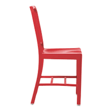 US Navy Emeco Chair Rojo