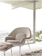 Womb Chair & Ottoman Beige