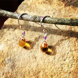 Citrine and Amethyst