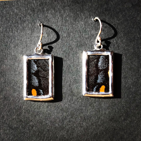 Dark Swallowtail Earrings