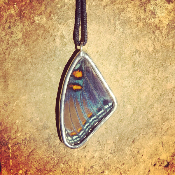 Red Spotted Purple Necklace