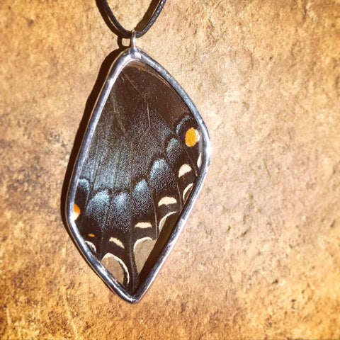 Dark Swallowtail Necklace