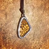 Variegated Fritillary Necklace