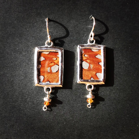 Fritillary Butterfly Earrings