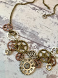 14 Speed Bicycle Chainring Necklace