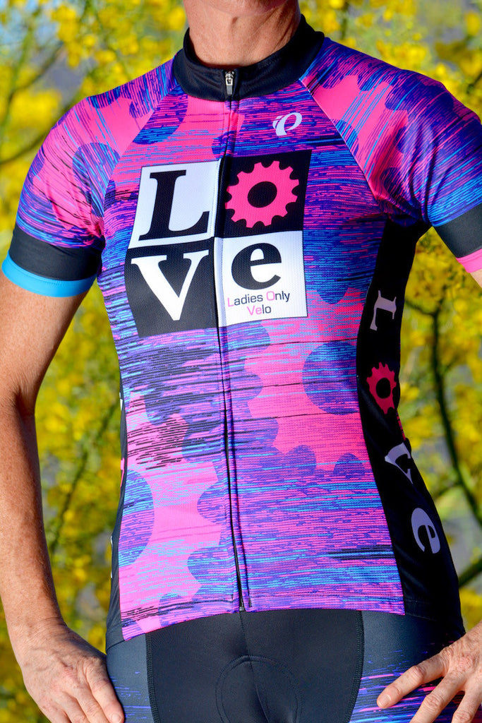 Ladies Only Velo LOVe Custom Jersey by Pearl Izumi