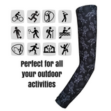 Arm Sleeves - Black Unicorns