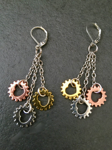 Big Heart Chainring Earrings