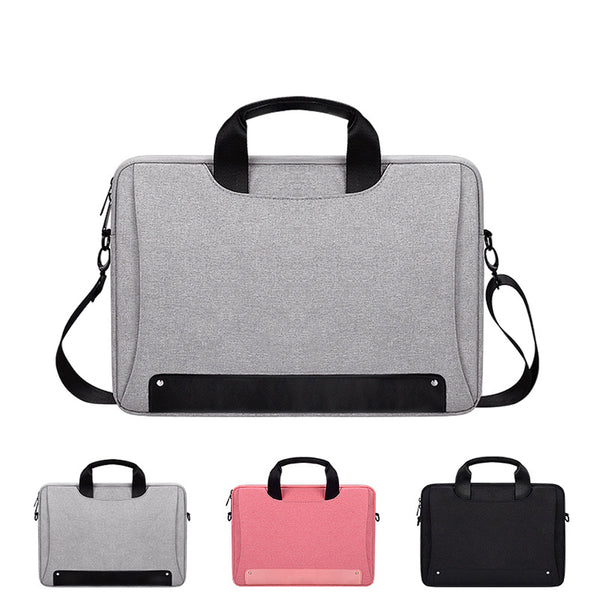 Computer Bag, Waterproof Oxford Cloth Laptop Sleeve Bag Should Hand Bag Notebook Computer Case D Cover for Men and women