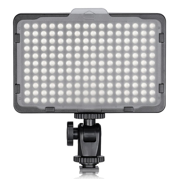 Photo Studio 176 LED Ultra Bright Dimmable On Camera Video Light for Canon,Nikon,Pentax,Panasonic,Sony,Samsung,Olympus Cameras (PT-176S)