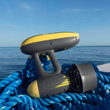 AQUAROBOTMAN Water Scooter, MagicJet Electric Motor Underwater Jet Scooter for Adults with Camera Mounts for Diving (MAX Propelling Speed: 6.5 KM/H) Up to 50 Meters
