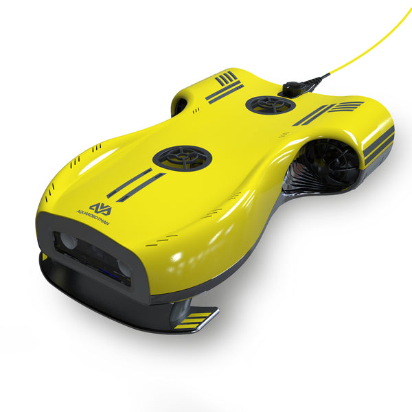 RC Underwater Drone ROV with 4K UHD Camera for Realtime Streaming Fishing Finder Boat (Used, Like New)