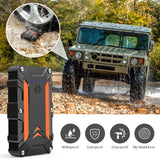 1000A Peak Portable Car Jump Starter QC 3.0  Type C up to 7.0L Gas or 5.0L Diesel Engine Auto Battery Booster Power Bank