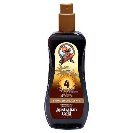 Солнцезащитный спрей-бронзатор Spray Gel with Instant Bronzer SPF 4