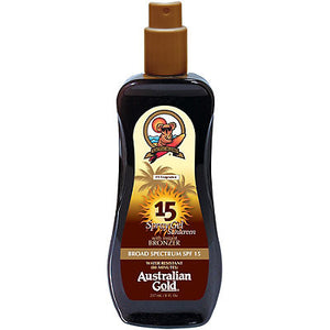 Солнцезащитный спрей-бронзатор Spray Gel with Instant Bronzer SPF 15