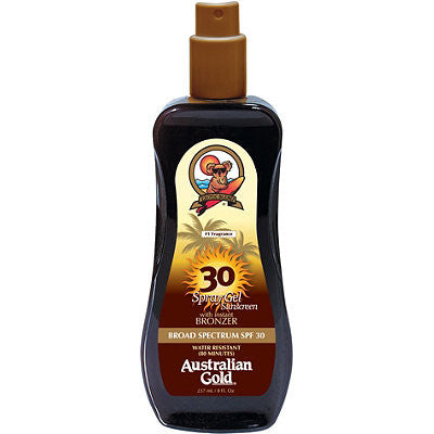 Солнцезащитный спрей-бронзатор Spray Gel with Instant Bronzer SPF 30