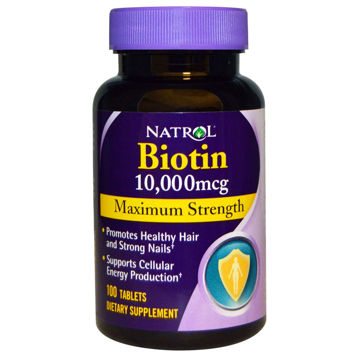 Биотин 10,000 мкг максимальная сила Biotin Maximum Strength 10,000 mcg