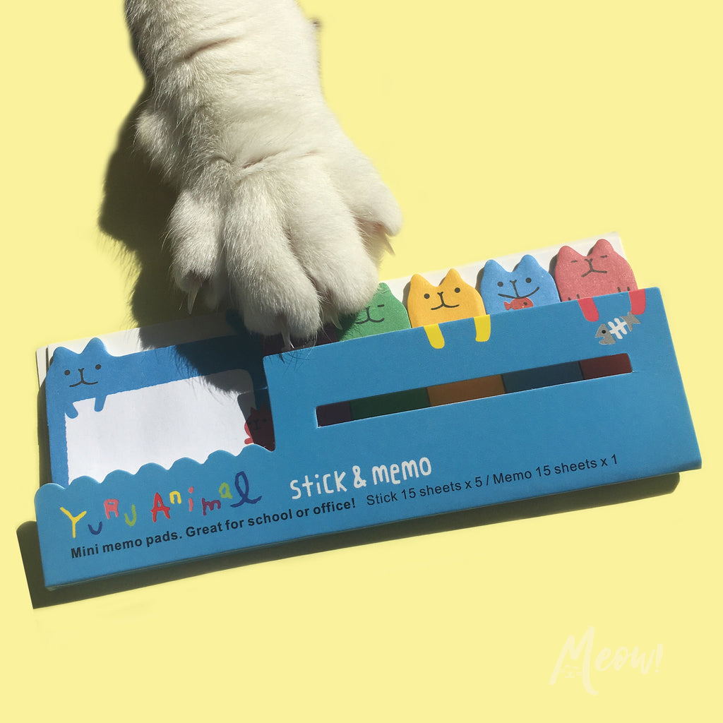 Cute Mini Cat Sticky Notes