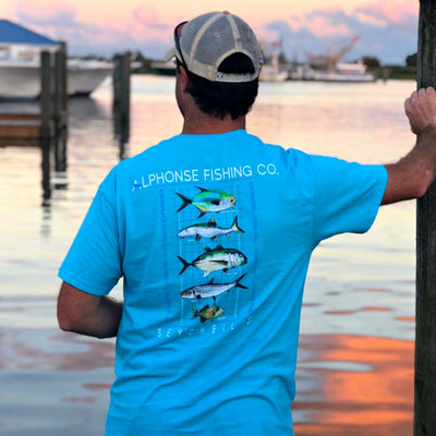 Alphonse Fishing Company - Pocket Tee
