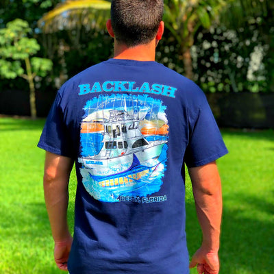 Backlash Fishing Charters - Pocket Tee