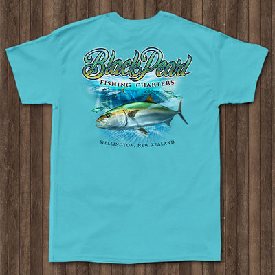 Black Pearl Charters - Pocket Tee