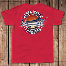 Black Watch Charters - Pocket Tee