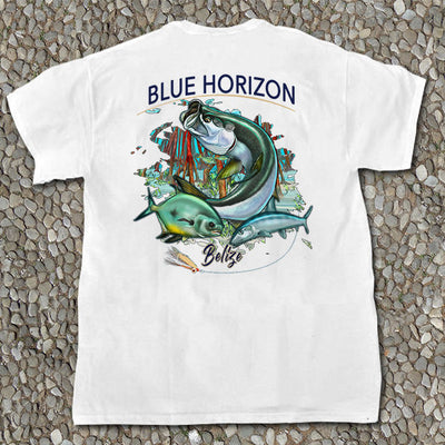Blue Horizon - Pocket Tee