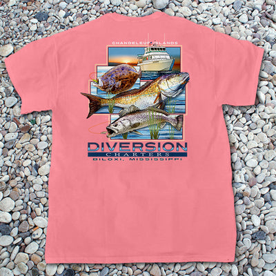 Diversion Charters - Pocket Tee